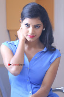 Telugu Actress Mounika UHD Stills in Blue Short Dress at Tik Tak Telugu Movie Audio Launch .COM 0153.JPG