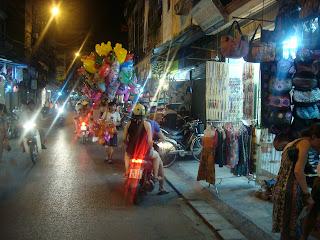 Atasco de Motos en Hanoi (Vietnam)