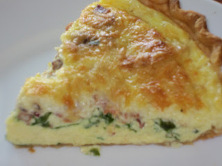 Dawn's Recipes: Bacon, Spinach and Swiss Quiche