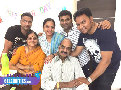Devi Sri Prasad Family Photos