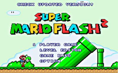 Super Mario Flash 2 - Jeu de Plateforme sur PC