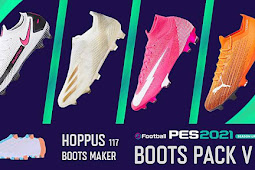 New Boots pack Season Update V1 - PES 2021