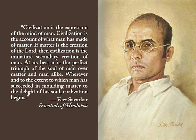 Thoughts and ideas of Veer Savarkar.