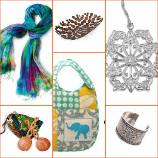 world vision handcrafted gifts collage