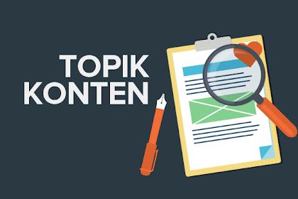 Tips Menemukan Topik untuk Artikel yang Dijamin Populer