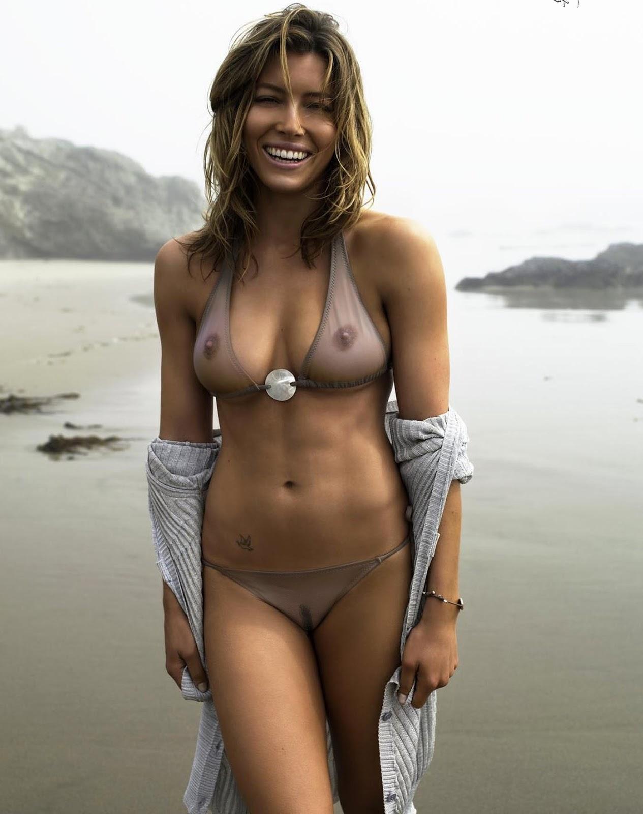 Jessica Biel  nackt