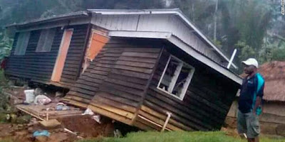 Gempa 7,5 SR Guncang Papua Nugini, 20 Orang Tewas