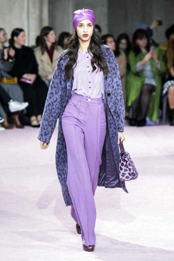 LILAC RUNWAY STYLE