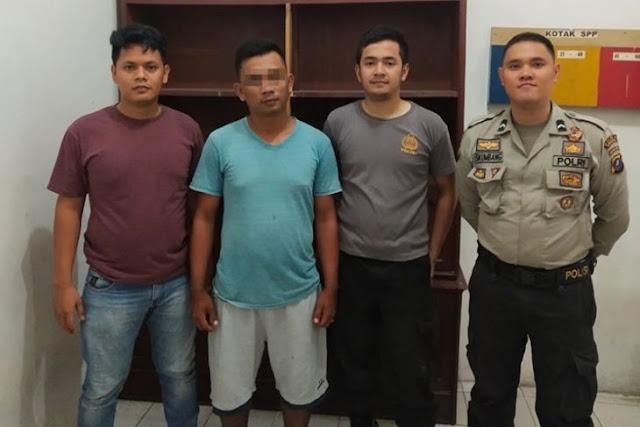Pria ini Diamankan Polisi Sibolga dari Kedai Tuak
