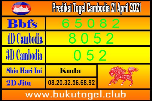 Prediksi Kamboja 21 April 2021