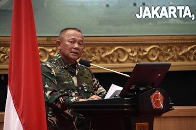 Kasum TNI Pimpin Taklimat Awal Audit Kinerja Itjen TNI Periode I TA 2021