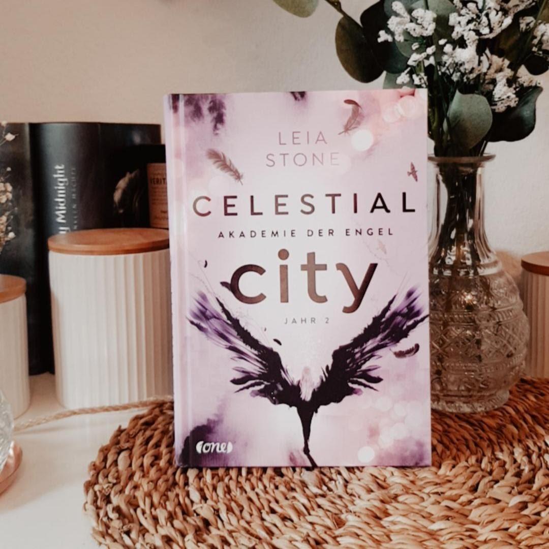 Bücherblog. Kooperation. ONE-Blogger. 2020. Unboxing - Part 5. Celestial City - Akademie der Engel - Jahr 2 (Band 2) von Leia Stone