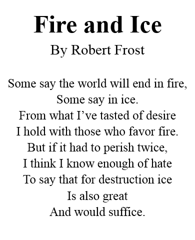 Live Life To The Fullest Fire Ice