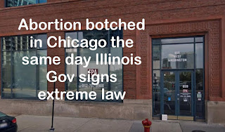 VIDEO: Abortion botched in Chicago, the same day Illinois law passed