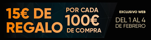 Top 20 ofertas 15 € de regalo por cada 100 € de compra Fnac.es