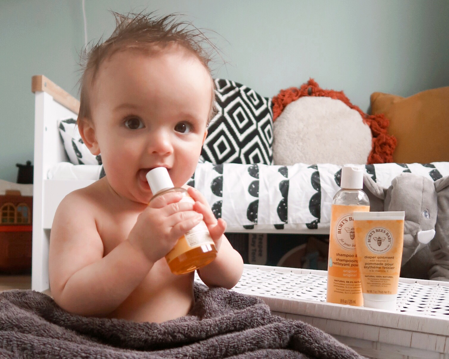 BURTS BEES BABY OIL REVIEW