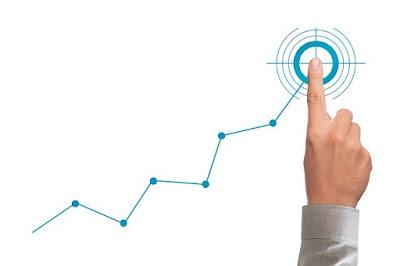 target trading saham