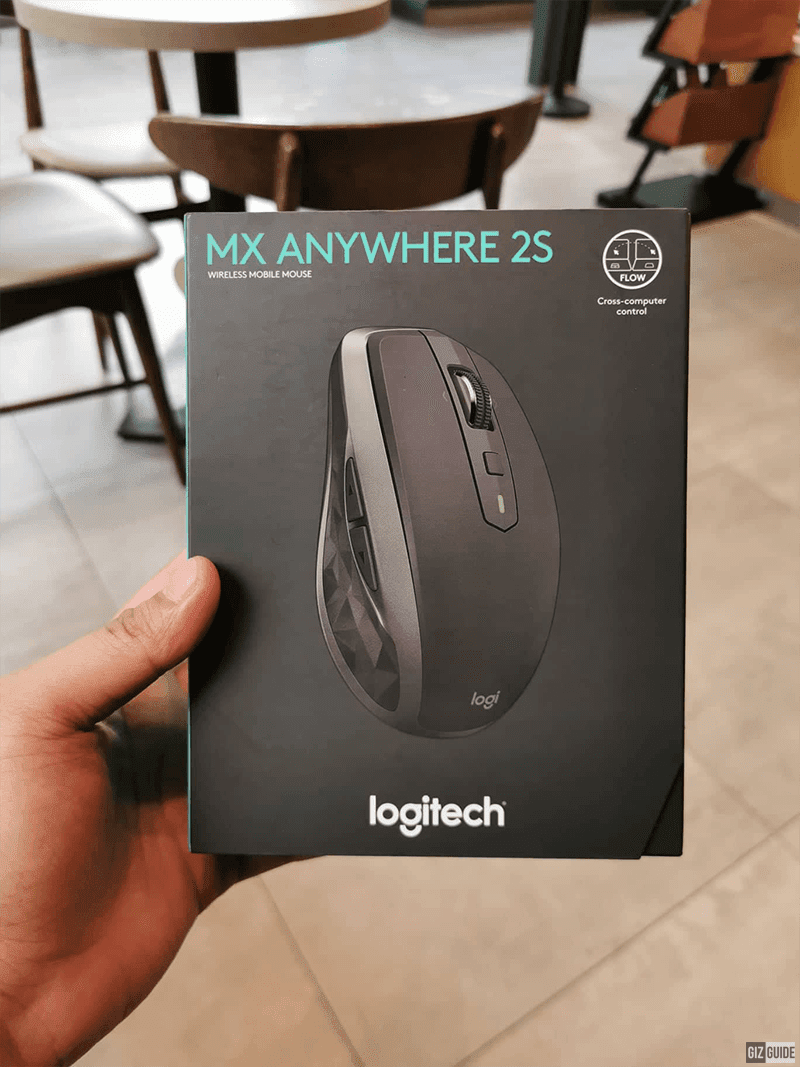 It is currently priced at PHP 3,595 at the official Logitech store at Lazada