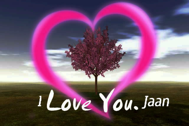 Love U Jaan Hd Wallpaper : I Love U Jaan Image Hd Wallpaper Images