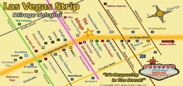 Ficar hospedado na Strip em Las Vegas
