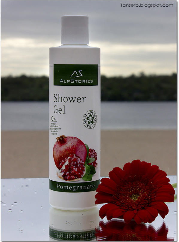 Гель для душа Гранат AlpStories Shower Gel Pomegranate