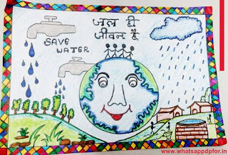 water conservation pictures for drawing