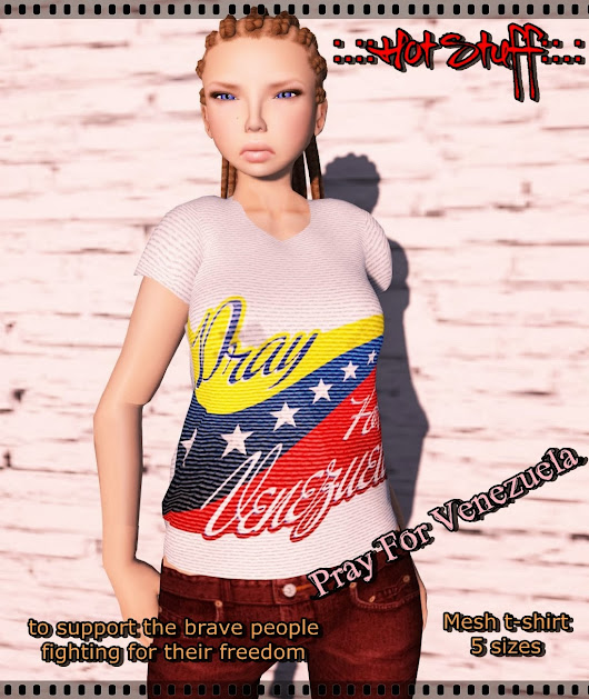 :.::Hot Stuff::.: Pray for Venezuela Support
