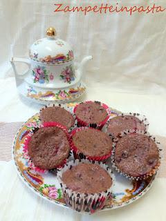 Muffin integrali ai frutti di bosco (senza burro)