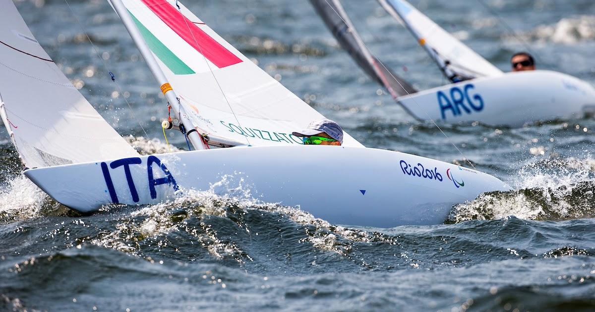 La quarta giornata di regate alle Paralimpiadi di Rio