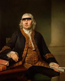 Sir John Fielding by Nathaniel Hone  Oil on canvas (1762) NPG 3834 (1)