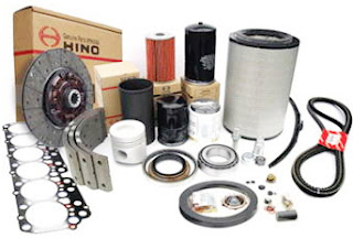Phụ tùng xe tải Hino WU342- Lọc khí -17801-78040