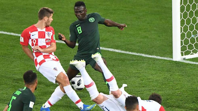 2018 World Cup:  Nigerians React to Croatia 2-0 Nigeria Defeat
