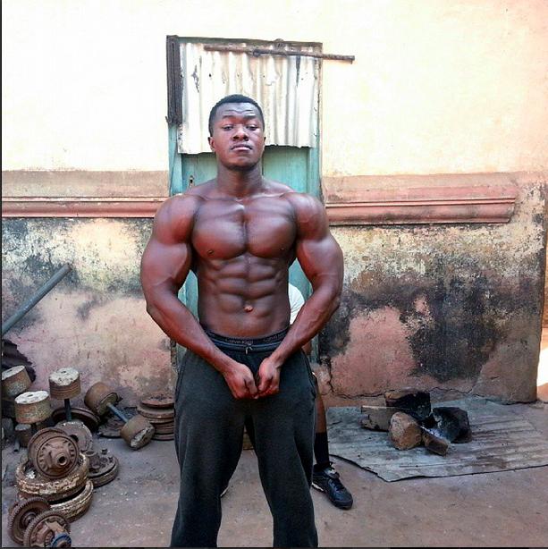 muskuļu audzēšana