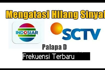 Cara Mencari Dan setting Siaran SCTV Yang Hilan