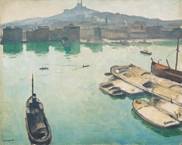 Albert Marquet Marsilya Limanı