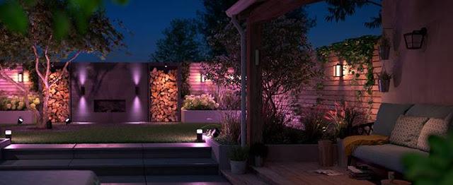 Nova gama exterior Philips Hue ilumina a noite no CES 2020