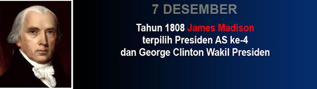 Foto Presiden James Madison