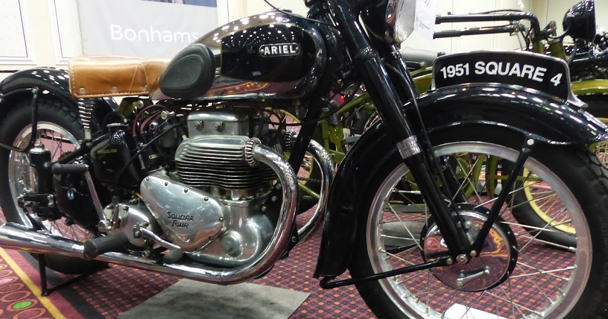 Evel Knievel Bike At Bonham S Las Vegas Moto Auction: OldMotoDude: 1951 Ariel Square Four 4G MK I Sold For