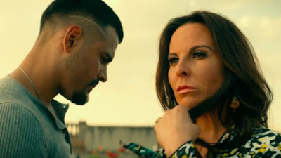 "Photo: Jacob Scipio and Kate del Castillo star as Isabel and Armando Aretas in ""Bad Boys for Life,"" one of the best movies of 2020"
