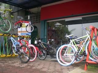 Bengkel Bengkel Sepeda di Ciputat, Tangerang Selatan