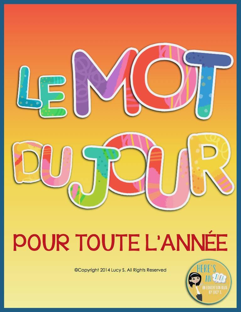 French - Le Mot Du Jour