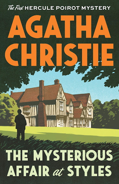 Agatha Christie - The Mysterious Affair at Styles -kirjan kansi
