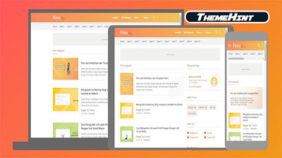 Fletro Premium Blogger Template by Kamran Jaisak