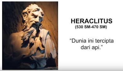 filsuf dunia heraclitus