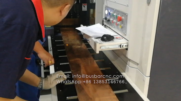 busbar punching cutting bending machine
