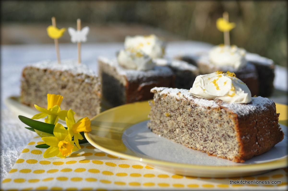 The Kitchen Lioness: Springtime Baking: Lemon Cake With