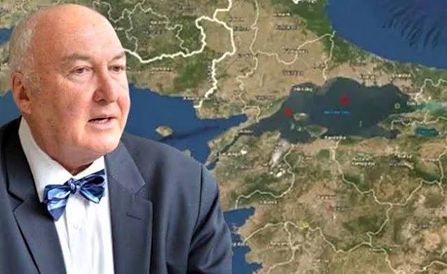 Ahmet Ercan 5 ilimiz için deprem uyarısı yaptı.