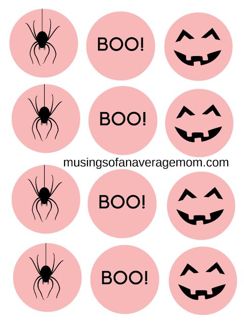 pink halloween printables