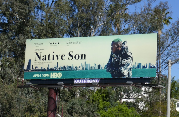 Native Son film billboard