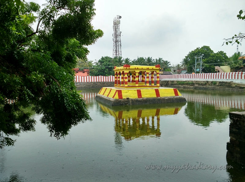 Rama Pond at Rama Teertham, Rameshwaram